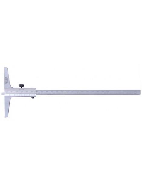 Głębokościomierz suwmiarkowy noniuszowy 150 x 0,05 mm ASIMETO