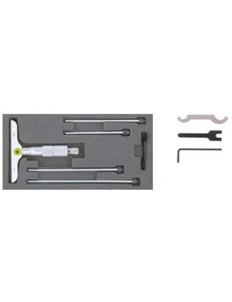 Głębokościomierz mikrometryczny cyfrowy 0-50 mm IP65 ASIMETO