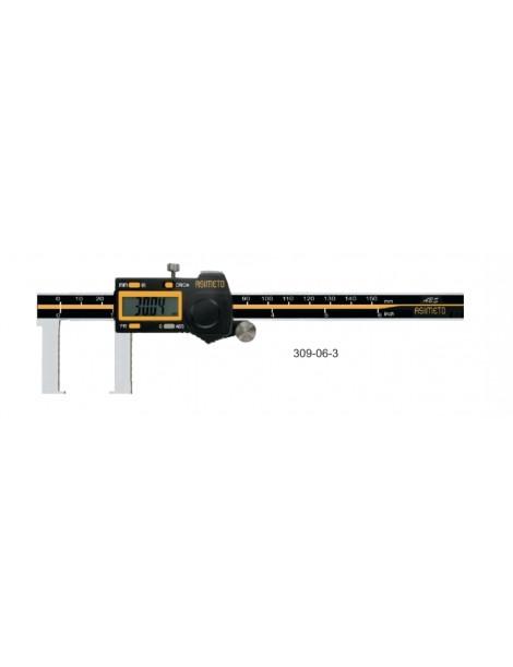 Suwmiarka do rowków zewnętrznych 150 x 0,01 mm ASIMETO