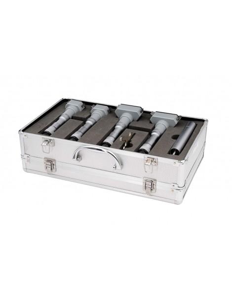 Zestaw średnicówek 3 punktowych mikrometrycznych analogowych 50-100 mm ASIMETO