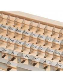 Komplet płytek wzorcowych ASIMETO 122 sztuki, stal, klasa 1 DIN ISO 3650