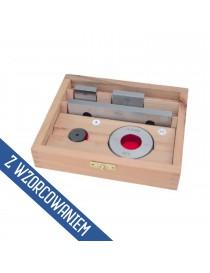 Zestaw do sprawdzania suwmiarek 0-300 mm ASIMETO DIN 862 ISO 3650 ze świadectwem wzorcowania