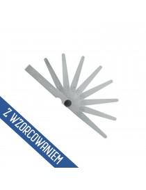 Szczelinomierz płytkowy 0,05 - 1,0 mm HOREX ze świadectwem wzorcowania
