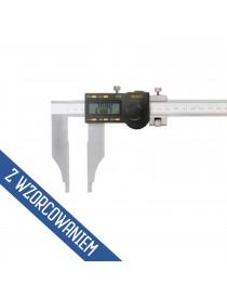 Suwmiarka elektroniczna jednostronna 500 x 0,01 mm ASIMETO ze świadectwem wzorcowania
