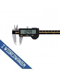 Suwmiarka cyfrowa z dużym wyświetlaczem ASIMETO 150 x 0,01 mm DIN 862 wzorcowana ISO 17025