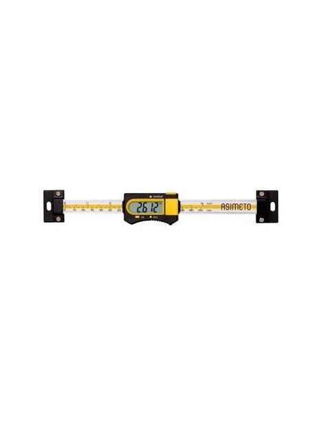 Liniał suwmiarkowy elektroniczny poziomy 600 x 0,01 mm ASIMETO