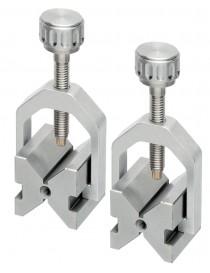 Podwójne pryzmy (jedna) z zaciskiem 25x20x20 mm ASIMETO