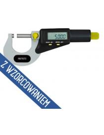 Mikrometr zewnętrzny elektroniczny ASIMETO 25-50 x 0,001 mm ze świadectwem wzorcowania