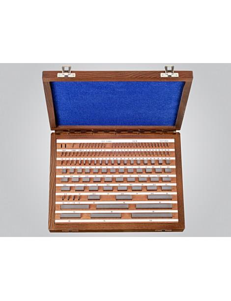 Zestaw stalowych płytek wzorcowych, klasa K, 122 sztuki HOFFMANN