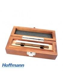 Stalowa płytka wzorcowa długa 400 mm, klasa 0 HOFFMANN