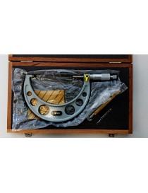 Mikrometr zewnętrzny analogowy ASIMETO 175-200 x 0,01 mm DIN 863