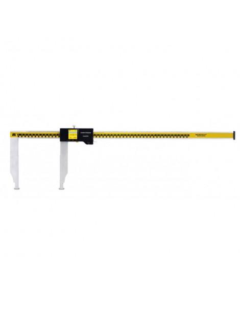 Inteligentna suwmiarka z długimi szczękami 0-500 x 0,01 mm, szczęki 100 mm MICROTECH