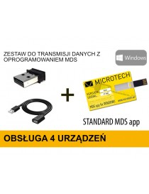 Zestaw do transmisji danych MICROTECH z oprogramowaniem MDS