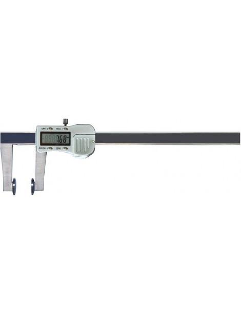 Suwmiarka elektroniczna z talerzykowymi powierzchniami pomiarowymi, 150 x 0,01 mm GIMEX