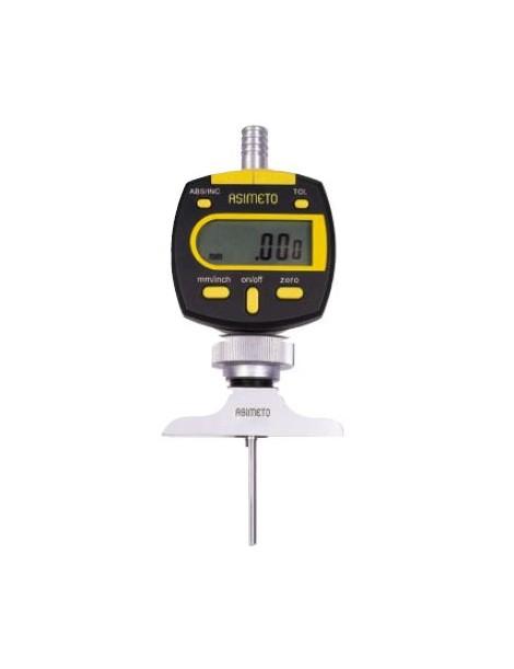 Głębokościomierz czujnikowy elektroniczny ASIMETO 0-100 mm x 0,01 mm
