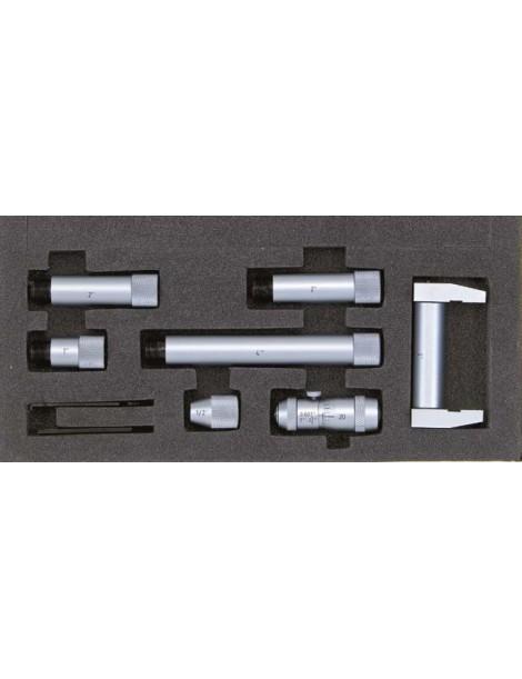 Średnicówka mikrometryczna dwupunktowa składana ASIMETO 50-1000 mm