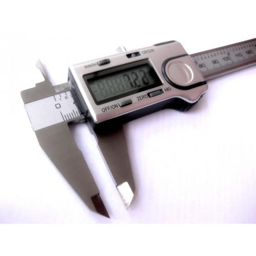 Suwmiarka elektroniczna 150 x 0,01 mm ABS wyjście danych USB DIN 862 BORLETTI
