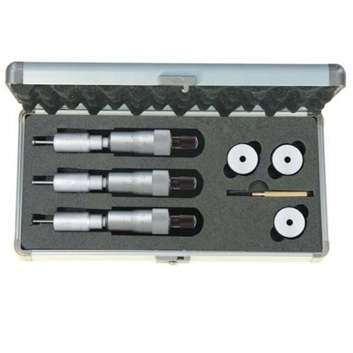 Zestaw średnicówek mikrometrycznych trójpunktowych 6-12 mm ASIMETO