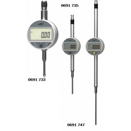 Elektroniczny czujnik długości 12,5 x 0,01 mm DIGI - MET HELIOS - PREISSER