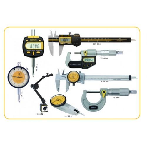 Zestaw profesjonalnych narzędzi pomiarowych w walizce ASIMETO