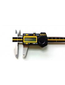 Suwmiarka elektroniczna ASIMETO 150 x 0,01 mm ABS PREMIUM LINE DIN 862