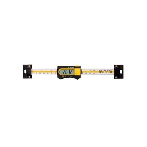 Liniał suwmiarkowy elektroniczny poziomy 1000 x 0,01 mm ASIMETO
