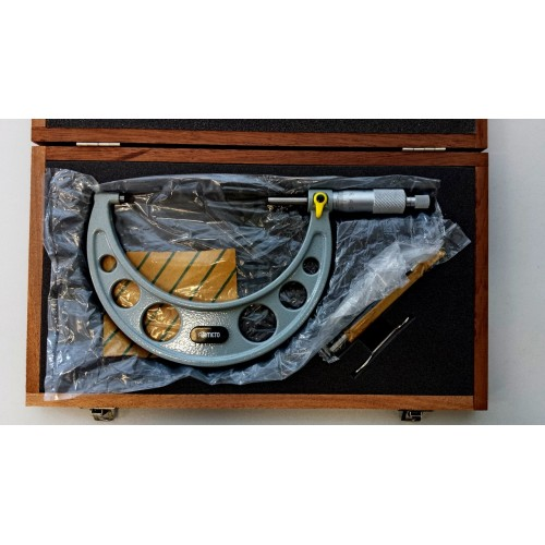 Mikrometr zewnętrzny analogowy ASIMETO 100-125 x 0,01mm