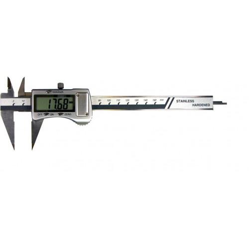 Suwmiarka z punktowymi szczękami zewnętrznymi 150 x 0,01 mm GIMEX
