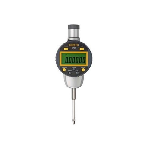 Elektroniczny czujnik długości ASIMETO 25 x 0,001 mm IP65 z wyjściem danych