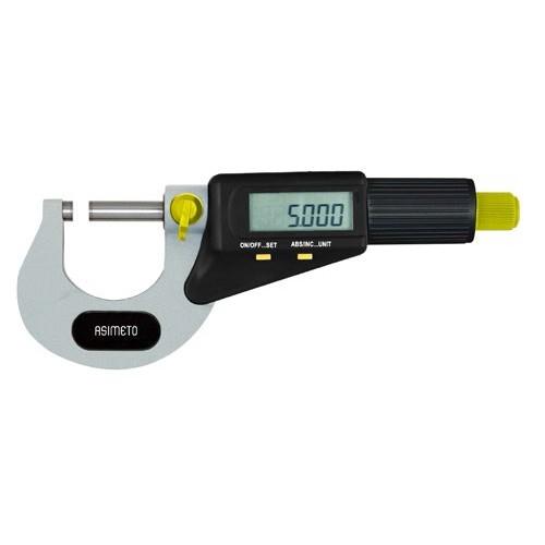 Mikrometr zewnętrzny elektroniczny ASIMETO 50-75 x 0,001 mm