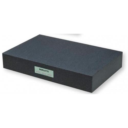 Płyta kontrolna pomiarowa granitowa 300 x 200 x 50 mm klasa 0 BORLETTI