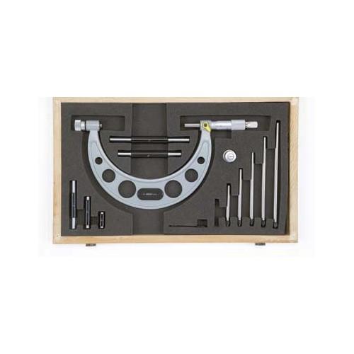 Mikrometr analogowy z wymiennymi końcówkami 150-300 x 0,01 mm ASIMETO