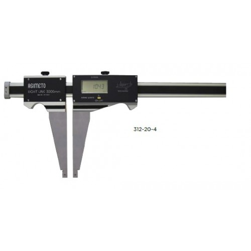 Suwmiarka elektroniczna 1500 x 0,01 mm ultralekka ASIMETO SYLVAC